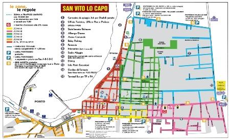 Sicilia Cartina San Vito Lo Capo.Sanvitolocaposicilia It La Piu Affidabile Guida Turistica On Line Viabilita E Parcheggi